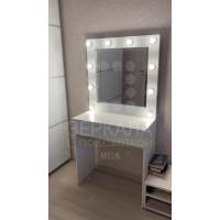 Гримерный стол Ирэн с зеркалом и подсветкой